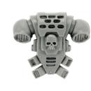 Warhammer 40k Bitz: Space Marines - Bikeschwadron - Torso D - Rückenmodul