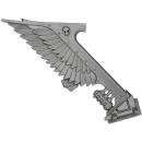 Warhammer 40K Bitz: Dark Angels - Ravenwing Command Squad - Bike J - Banner I