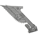 Warhammer 40K Bitz: Dark Angels - Ravenwing Command Squad - Bike L - Banner III