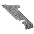 Warhammer 40K Bitz: Dark Angels - Ravenwing Command Squad - Bike M - Apothecary, Banner IV