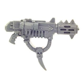 Warhammer 40K Bitz: Chaos Space Marines - Chaos Space Marines - Weapon R - Melta Gun