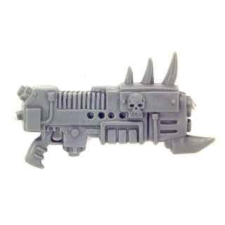 Warhammer 40K Bitz: Chaos Space Marines - Chaos Space Marines - Weapon S - Plasma Gun