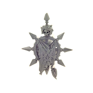 Warhammer 40K Bitz: Chaos Space Marines - Chaos Space Marines - Accessory L - Banner Top, Chaos Glory