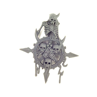 Warhammer 40K Bitz: Chaos Space Marines - Chaos Space Marines - Accessoire M - Bannerspitze, Nurgle