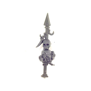 Warhammer 40K Bitz: Chaos Space Marines - Chaos Space Marines - Accessory F - Trophy Rack