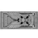Warhammer 40k Bitz: Space Marines - Ironclad Dreadnought - Front Plate B