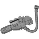 Warhammer 40k Bitz: Space Marines - Ironclad Dreadnought - Meltagun