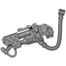 Warhammer 40k Bitz: Space Marines - Ironclad Dreadnought - Heavy Flamer