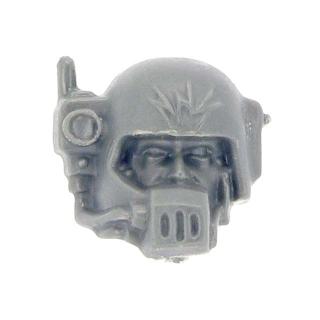 Warhammer 40k Bitz: Imperiale Armee - Cadianischer Kommandotrupp - Kopf E - Funker