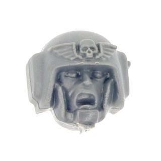 Warhammer 40k Bitz: Imperial Guard - Cadian Command Squad - Head G