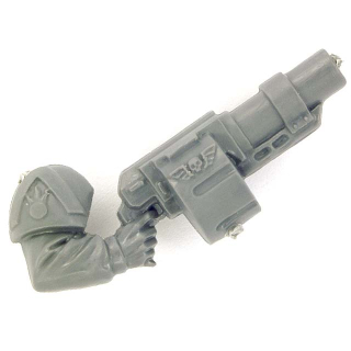 Warhammer 40k Bitz: Imperial Guard - Cadian Command Squad - Weapon E - Grenade Launcher