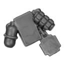 Warhammer 40k Bitz: Space Marines - Sternguard Veteran Squad - Accessory F Belt Pouch + Grenades