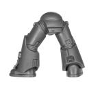 Warhammer 40k Bitz: Space Marines - Taktischer Trupp - Beine F - MK VI