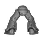 Warhammer 40k Bitz: Space Marines - Taktischer Trupp - Beine H - MK VI