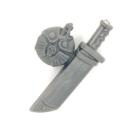 Warhammer 40k Bitz: Imperiale Armee - Cadianischer Kommandotrupp - Accessoire O - Wasserflasche+Messer