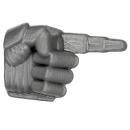 Warhammer 40k Bitz: Space Marines - Taktischer Trupp - Arm H - Hand III, Zeigend