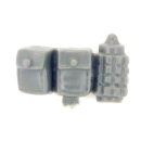 Warhammer 40k Bitz: Imperial Guard - Cadian Command Squad - Accessory E - Belt Pouch+Grenade