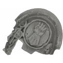 Forge World Bitz: Warhammer 40k - Imperial / Crimson Fists - Terminator Shoulder Pads - Shoulder Pad D