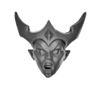 Warhammer AoS Bitz: DUNKELELFEN - 004 - Hexenkriegerinnen - Kopf B - Hexenkriegerin