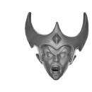 Warhammer AoS Bitz: DUNKELELFEN - 004 - Hexenkriegerinnen - Kopf C - Hexenkriegerin