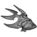 Warhammer AoS Bitz: DUNKELELFEN - 004 - Hexenkriegerinnen - Kopf F - Hexenpriesterin