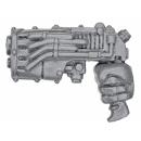 Warhammer 40K Bitz: Chaos Space Marines - Khorne Berzerkers - Plasma Pistol