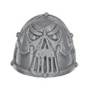 Warhammer 40K Bitz: Chaos Space Marines - Khorne Berzerkers - Shoulder Pad G