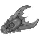 Warhammer 40K Bitz: Tyranids - Tyranid Warriors - Head Crest A