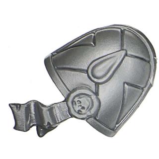 Warhammer 40k Bitz: Blood Angels - Death Company - Shoulder Pad E