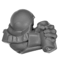 Warhammer AoS Bitz: ZWERGE - 002 - Hammerträger - Arm C - Links, Schild