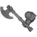 Warhammer AoS Bitz: ZWERGE - 002 - Hammerträger - Axt B - Rechts