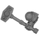 Warhammer AoS Bitz: ZWERGE - 002 - Hammerträger - Hammer A - Rechts