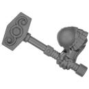 Warhammer AoS Bitz: ZWERGE - 002 - Hammerträger - Hammer B - Rechts