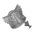Warhammer 40k Bitz: Blood Angels - Todeskompanie - Schulterpanzer P