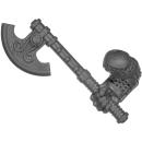 Warhammer AoS Bitz: ZWERGE - Eisenbrecher - Axt B - Rechts, Eisenbrecher