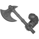 Warhammer AoS Bitz: ZWERGE - Eisenbrecher - Axt C - Rechts, Eisenbrecher
