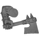 Warhammer AoS Bitz: ORRUKS - Orruks - Weapon B - Left, Axe II