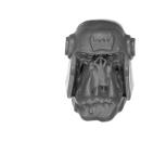 Warhammer 40k Bitz: Orks - Ork Battlewagon - Crew Head B