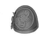 Forge World Bitz: Warhammer 40k - Red Scorpions - Marine Shoulder Pads - Shoulder Pad C
