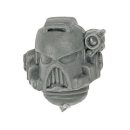 Warhammer 40k Bitz: Space Marines - Command Squad - Head D