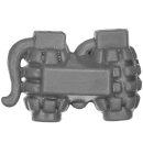 Warhammer 40k Bitz: Militarum Tempestus - Scions / Command Squad - Accessory K - Grenades