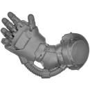 Warhammer 40k Bitz: Militarum Tempestus - Scions / Command Squad - Power Fist - Right