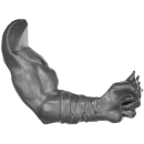 Warhammer AoS Bitz: ORRUKS - 002 - Boar Boys - Arm A - Links