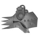 Warhammer 40k Bitz: Orks - Gargbot - Kopf A - Gesicht