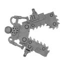 Warhammer 40k Bitz: Orks - Gargbot - Waffe I -...