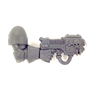 Warhammer 40K Bitz: Chaos Space Marines - Chaos Space Marines - Weapon L - Right, Plasma Pistol II