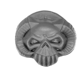 Warhammer 40K Bitz: Chaos Space Marines - Chaos Terminators - Shoulder Pad C