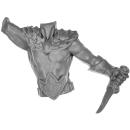Warhammer AoS Bitz: WALDELFEN - Sisters of the Thorn - Torso C - Wild Rider