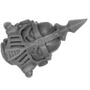 Forge World Bitz: Horus Heresy - Death Guard - Legion Heads Upgrade - Head A - MK IV, Champion