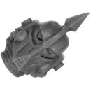 Forge World Bitz: Horus Heresy - Death Guard - Legion Heads Upgrade - Head D - MK IV